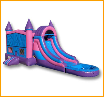 3 in 1 Wet Dry Princess Castle Module Combo