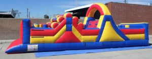 33' Inflatable Obstacle Course