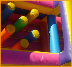 34' Inflatable Indoor Obstacle Course