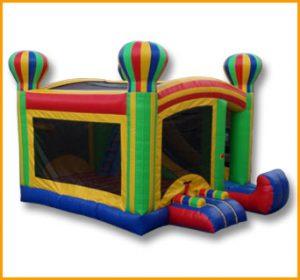 4 in 1 Balloon Adventures Bouncer Combo