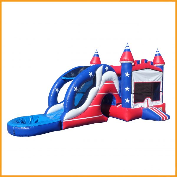 Inflatable 3 in 1 combo