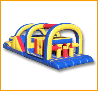 42' Primary Colors Obstacle Course