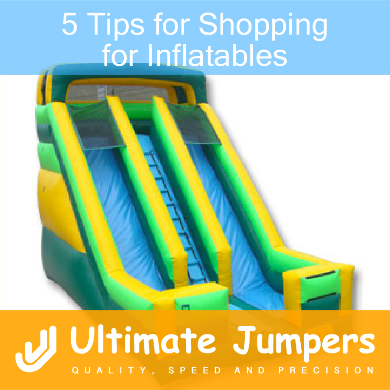 5 Tips for Shopping for Inflatables