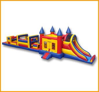61' Castle Obstacle Course