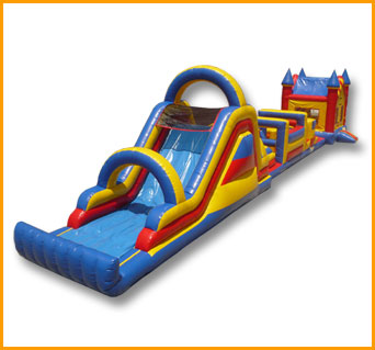77' Castle Obstacle Course