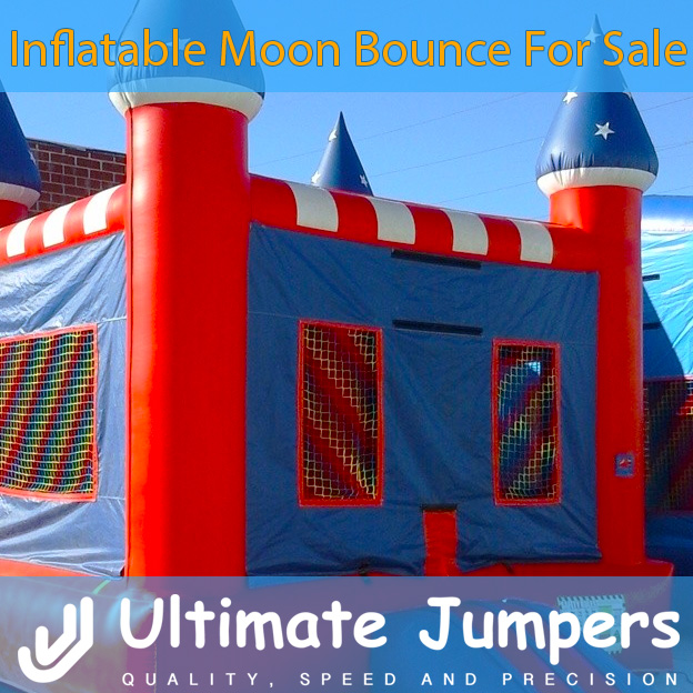 Inflatable Moon Bounce for Sale