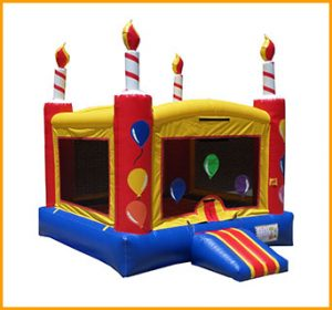 Birthday Cake Inflatable Jumper