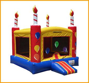 Birthday Cake Inflatable Jumper