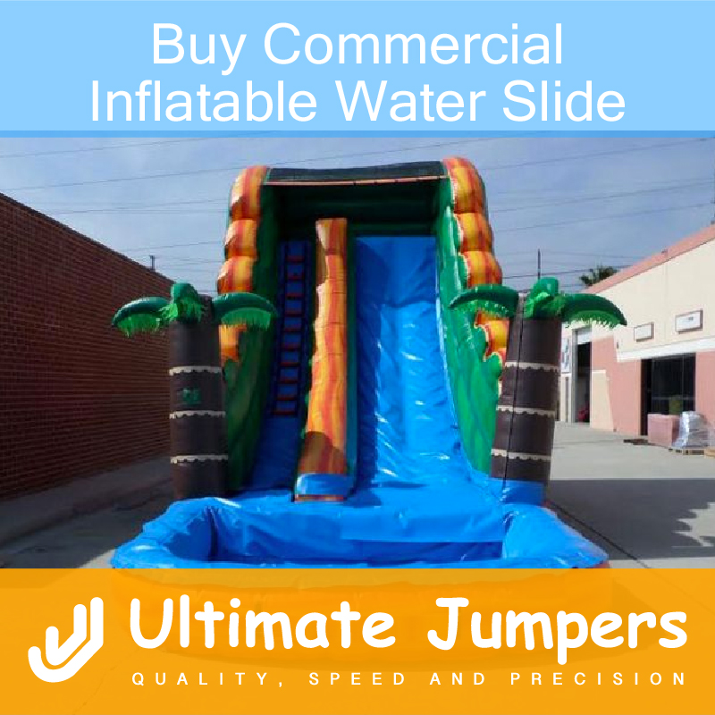 Buy Commercial Inflatable Water Slide
