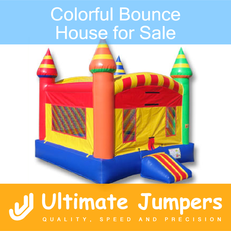 Colorful Bounce House for Sale