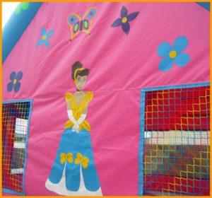 Dollhouse Inflatable Bouncer