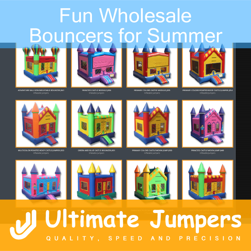Fun Wholesale Bouncers for Summer