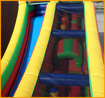 The Incline Inflatable Obstacle Course