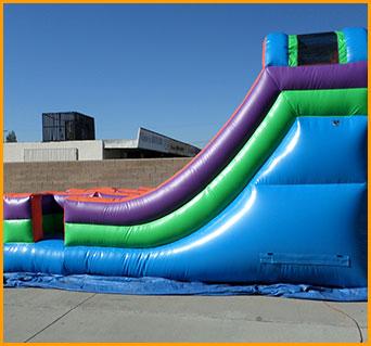 Inflatable 13' Double Lane Slide