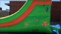 Inflatable 14' Single Lane Water Slide