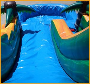 Inflatable 14' Tropical Island Water Slide