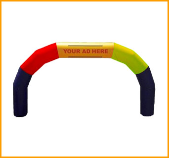 Inflatable 15' Advertising Arch