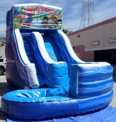 Inflatable 17' Module Curvy Water Slide