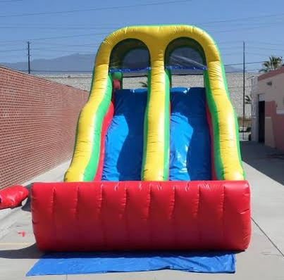 Inflatable 18' Double Lane Slide