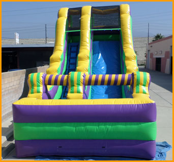Inflatable 18' Dry Slide