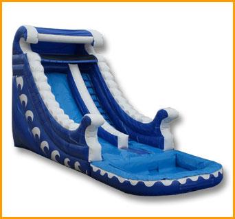 Inflatable 18' Ocean Wave Water Slide