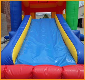 Inflatable 2 in 1 Multicolor Castle Combo