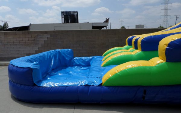 Inflatable 20' Double Lane Water Slide