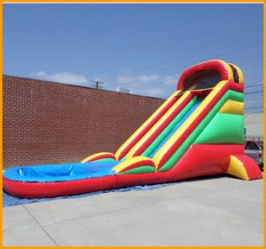 Inflatable 20' Front Load Water Slide