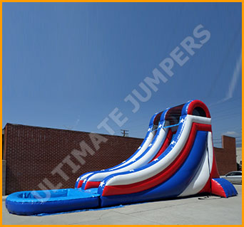 Inflatable 20' Independence Day Water Slide