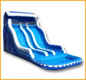 Inflatable 20' Ocean Wave Double Water Slide