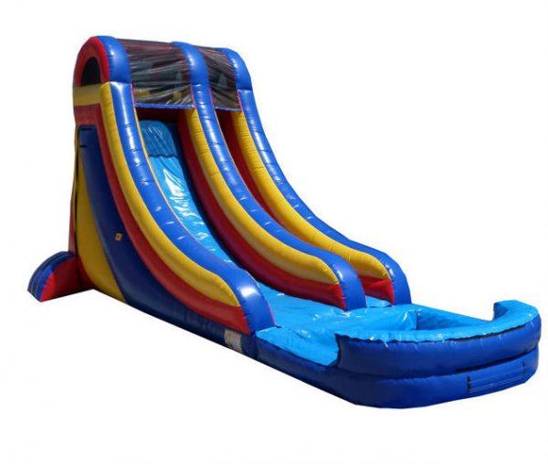 Inflatable 20' Single Lane Water Slide