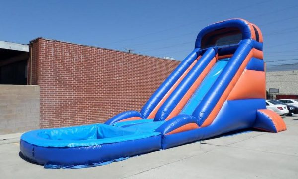 Inflatable 20' Wet and Dry Slide