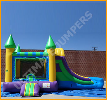 Inflatable 3 in 1 Castle Combo
