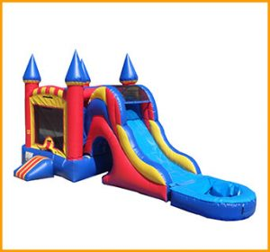 Inflatable 3 in 1 Wet and Dry Castle Combo