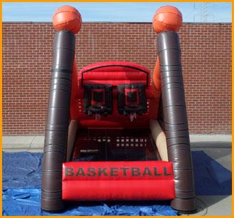 Inflatable Basketball Court