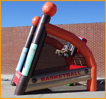 Inflatable Basketball Shoot