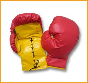 Inflatable Boxing Gloves