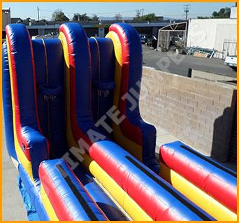 Inflatable Bungee Basketball Combo