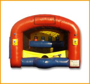Inflatable Carnival Shooter Unit