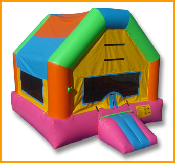 Inflatable Colorful House Jumper