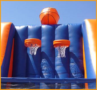 Inflatable Double Basketball Hoops