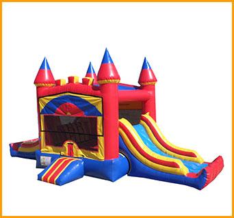 Inflatable Double Direction Castle Module Combo