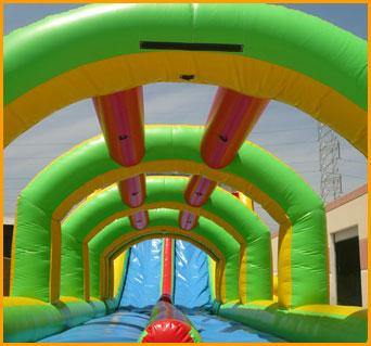 Inflatable Double Lane Splish Splash