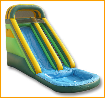 Inflatable Front Load 20' Water Slide