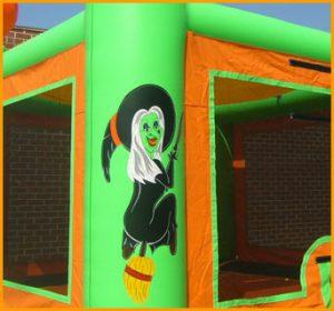 Inflatable Halloween Jumper