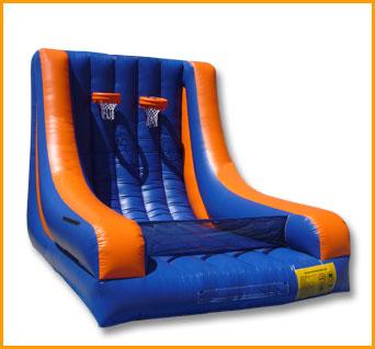 Inflatable Indoor Double Basketball Court