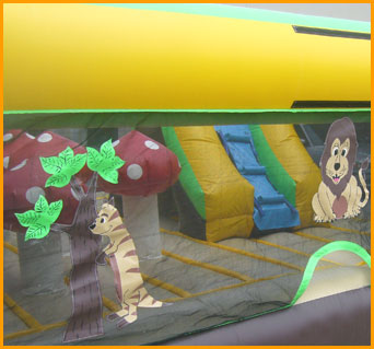 Inflatable Indoor Ultimate Safari