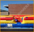 Inflatable Joust and Twister Combo