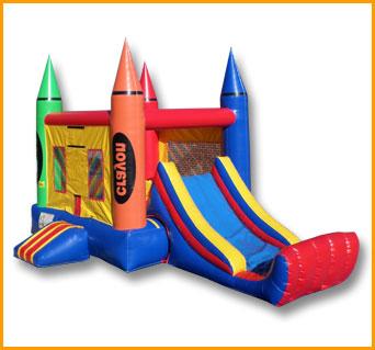 Inflatable Mini Crayon Combo
