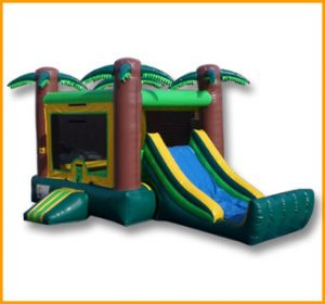 Inflatable Mini Tropical Bouncer Combo